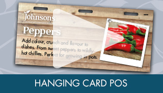 Hanging Card POS VG
